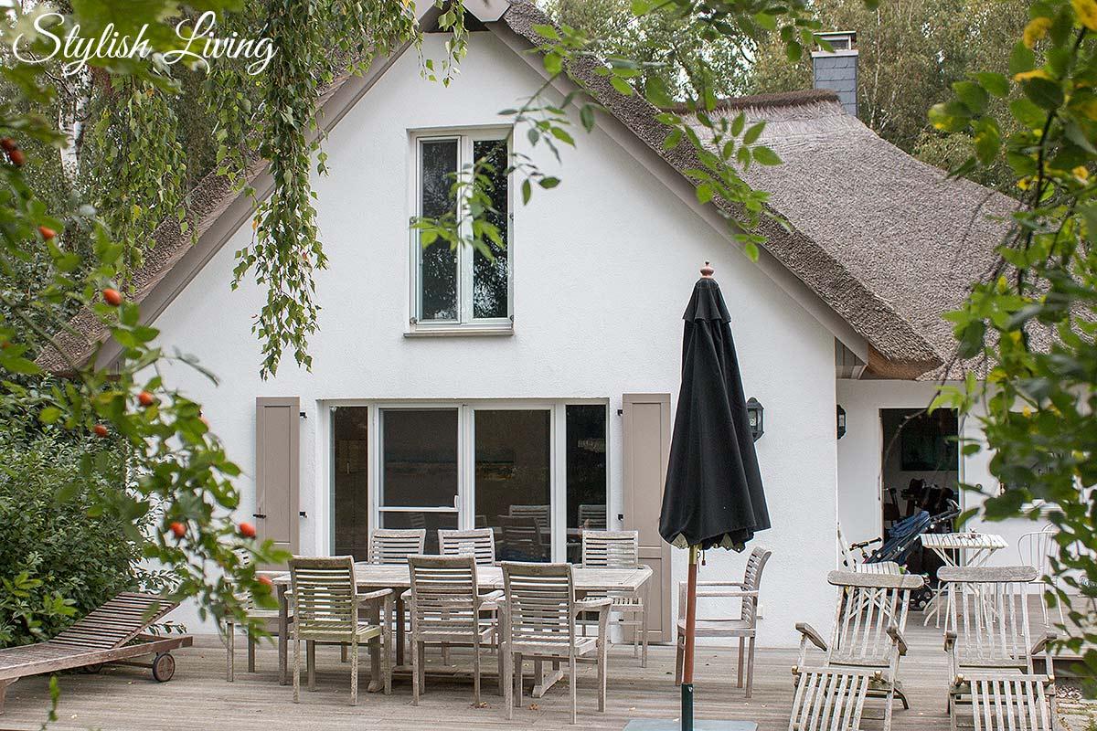 Terrasse Seehaus Ahrenshoop