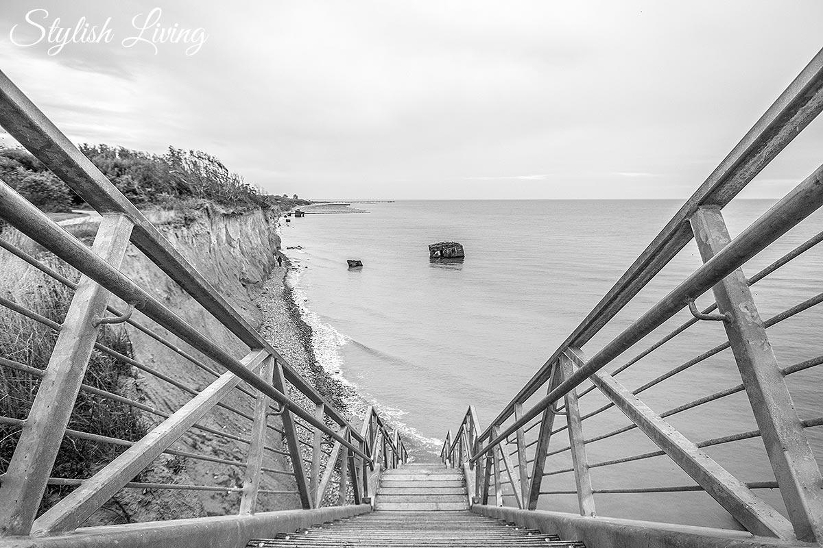 Treppe Steilküste Wustrow