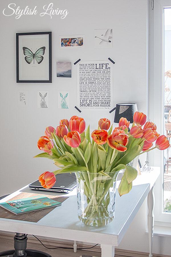 Bilder im Büro