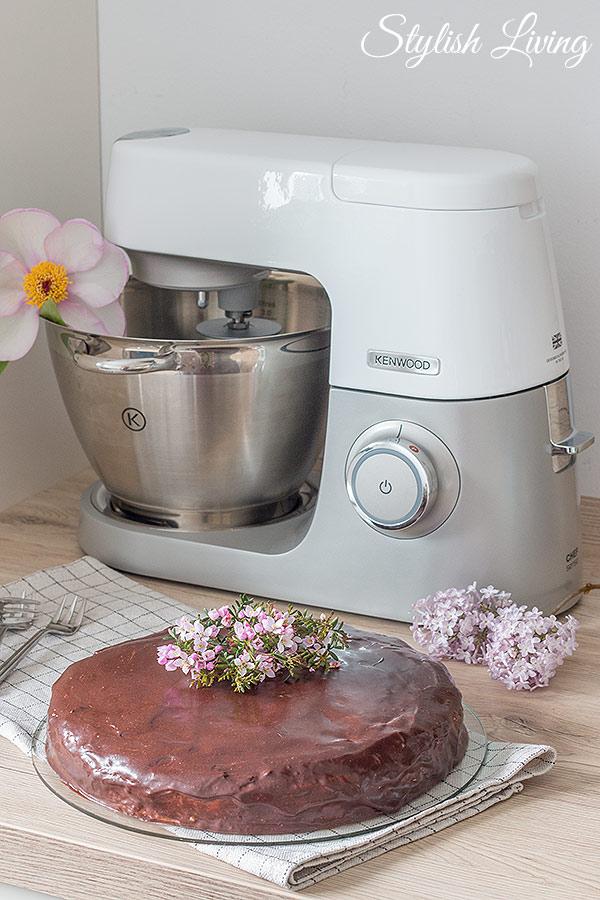 Schneewittchenkuchen mit der Kenwood Chef Sense