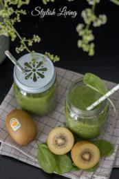Gesund und lecker: Kiwi-Bananen-Smoothie aus Zespri Kiwi