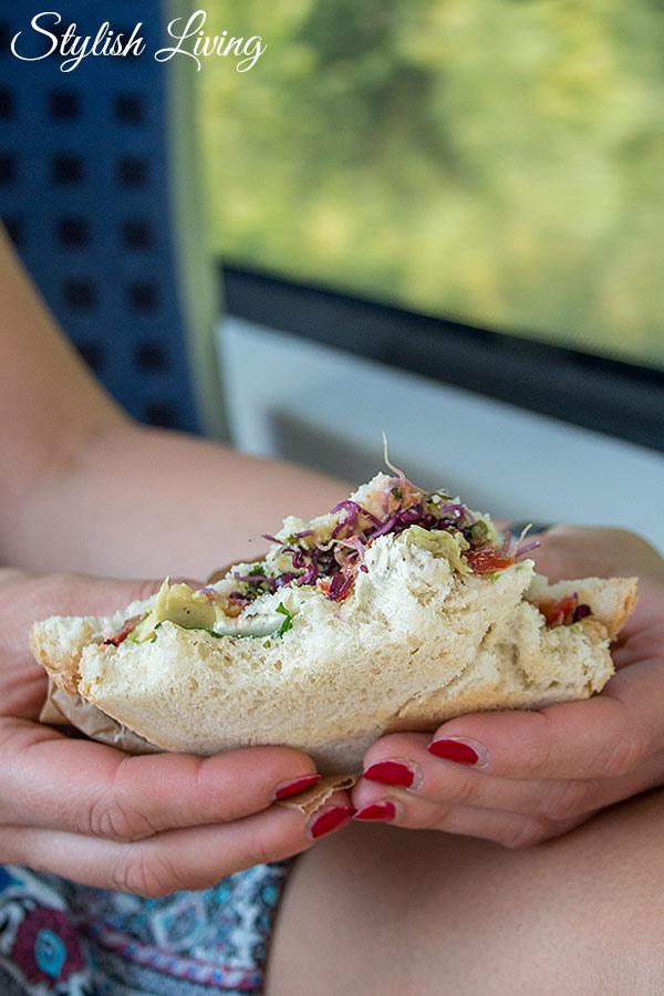 DB Harz-Weser - selbstgemachte Sandwiches