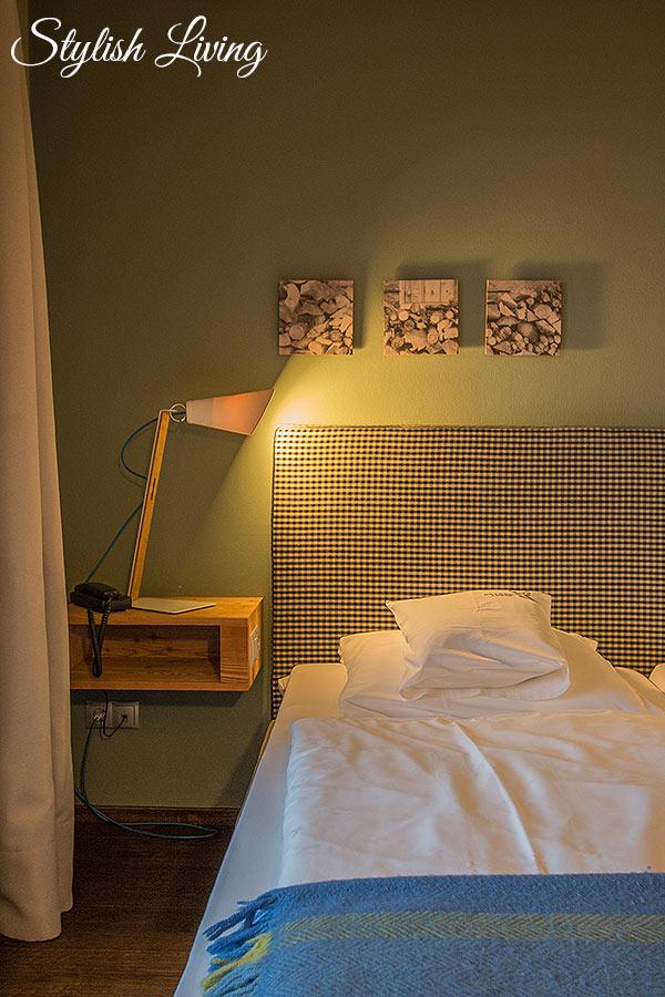 Schlafzimmer Icaro Vitalpina Hotel