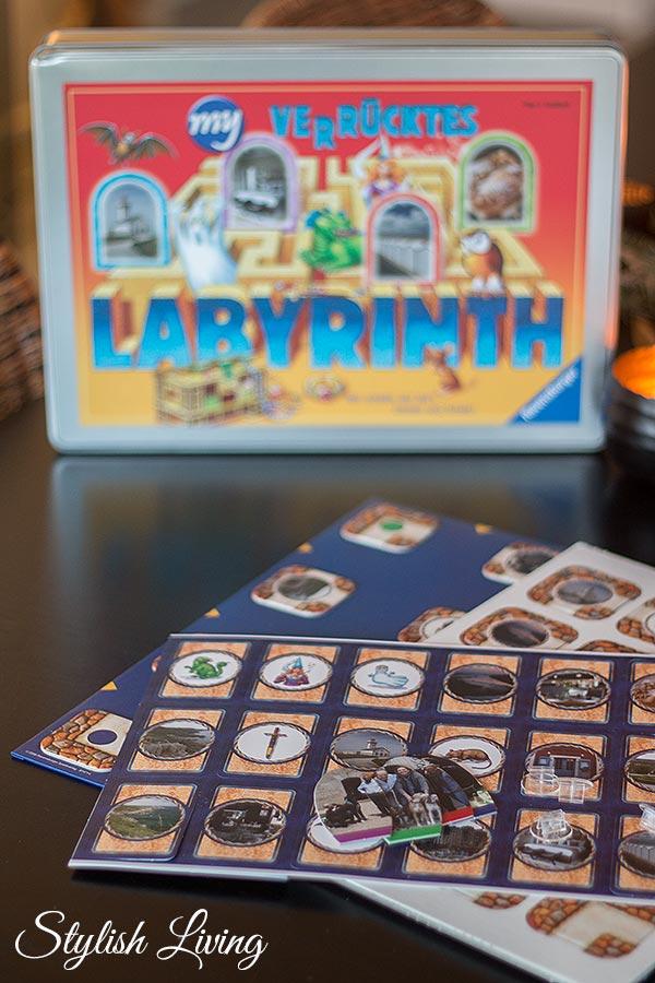 my verrücktes Labyrinth mit eigenen Bildern