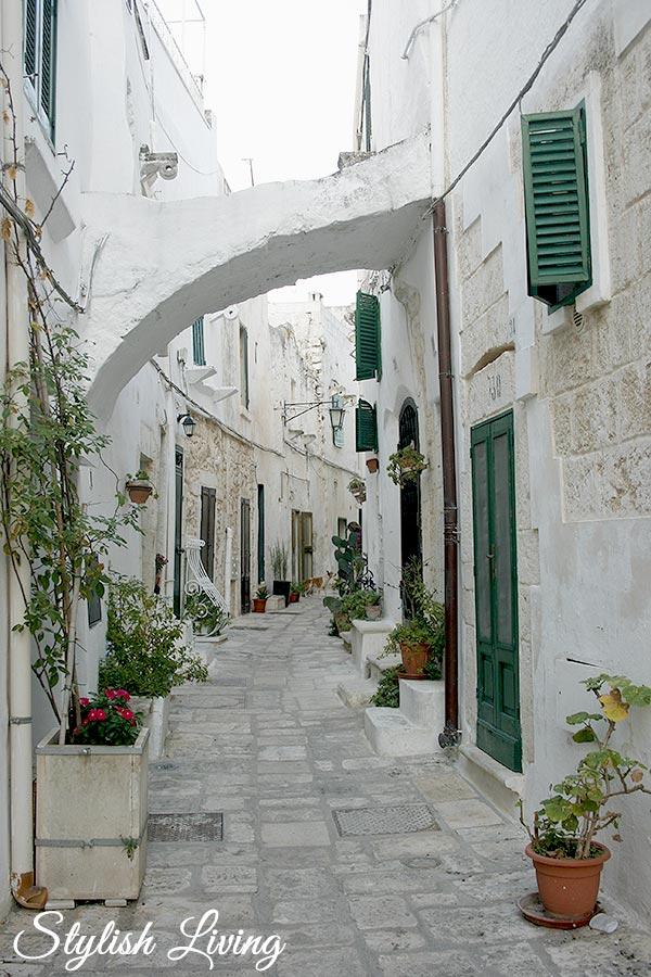 Ostuni in Apulien