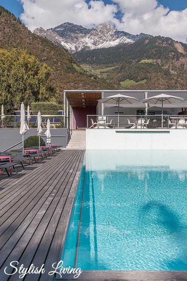 Design Hotel Tyrol Poolbereich