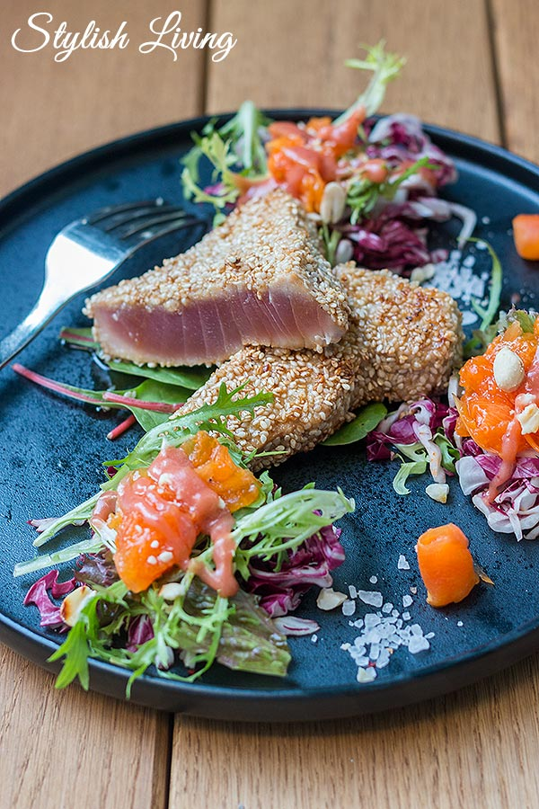 Thunfisch vom Josper im Steg-Haus Braunschweig