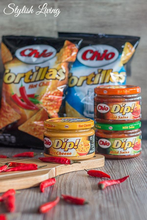 Chio Tortillas mit Dip!