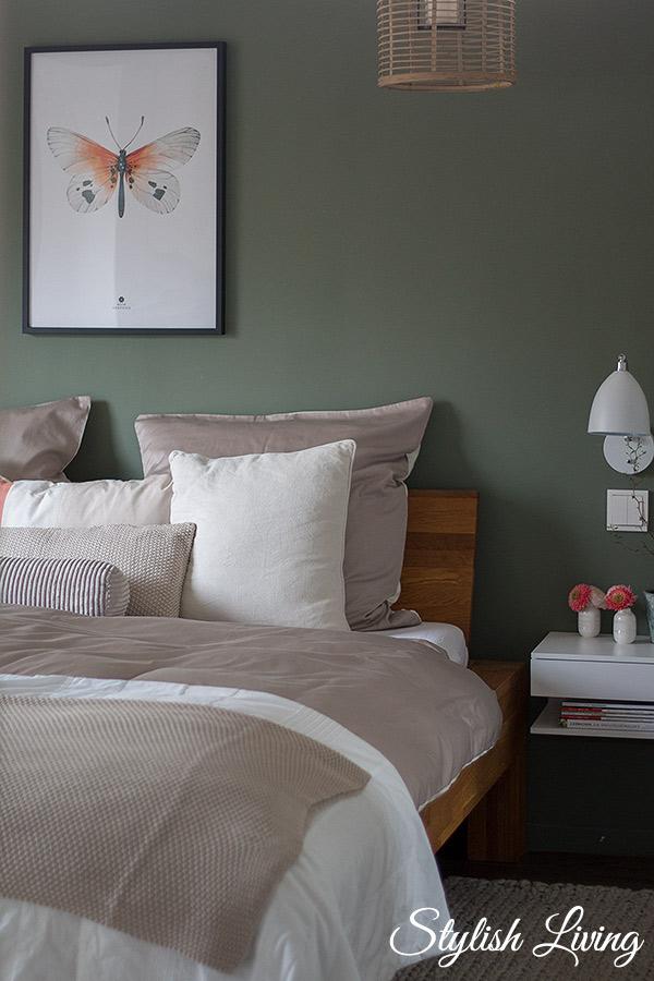 Schlafzimmer Makeover mit OTTO Bettwäsche, Wohndecke und Dekokissen