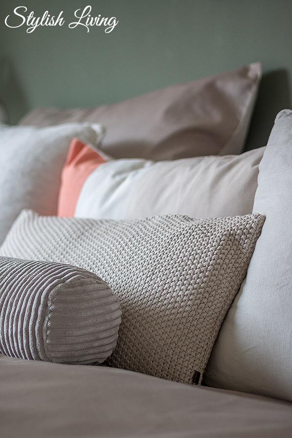 Schlafzimmer Makeover mit OTTO Kissen von Marc O'Polo