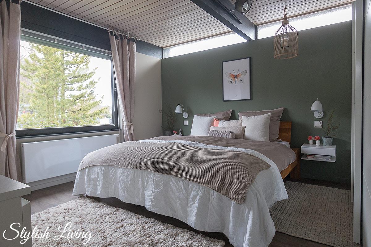 Schlafzimmer Makeover mit OTTO Kleiderschrank, Wohndecke, Dekokissen und Bettwäsche