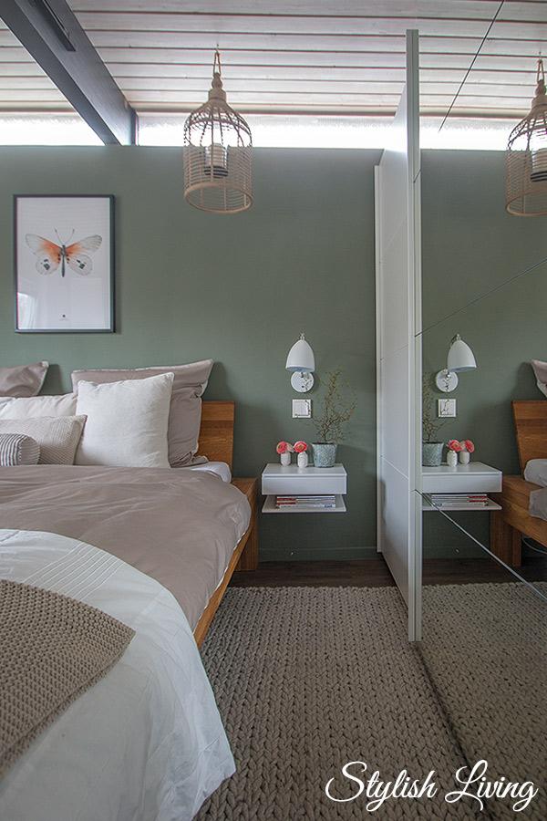 Schlafzimmer Makeover mit OTTO Kleiderschrank und Bettwäsche
