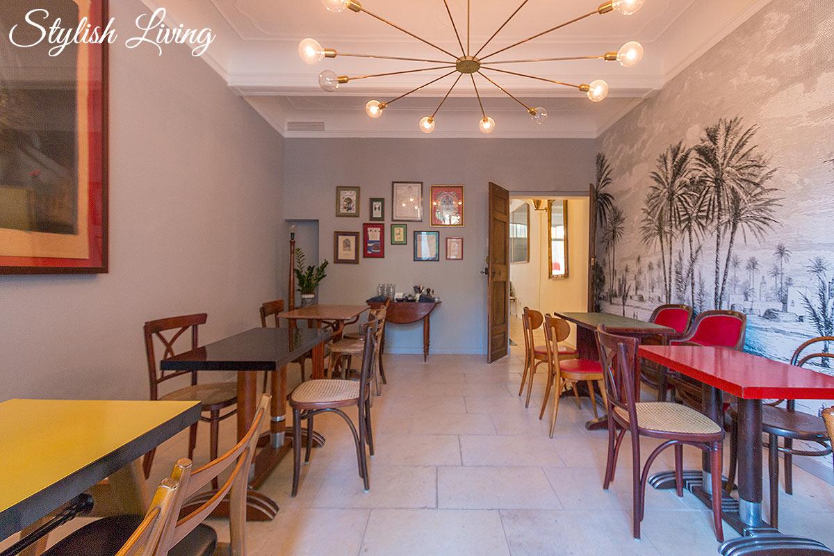 Frühstücksraum im Maison Du Collectionneur in Aix-en-Provence