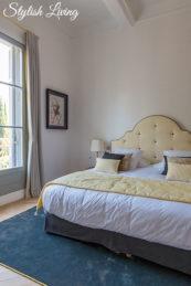 Schlafzimmer mit Gartenblick im Maison Du Collectionneur