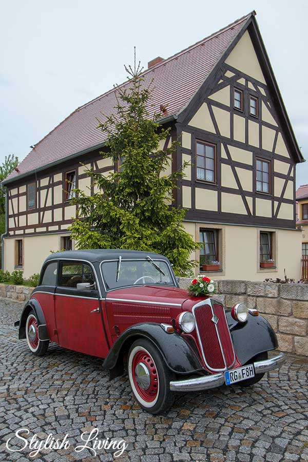 Pension Alte Schmiede Zabeltitz in Sachsen