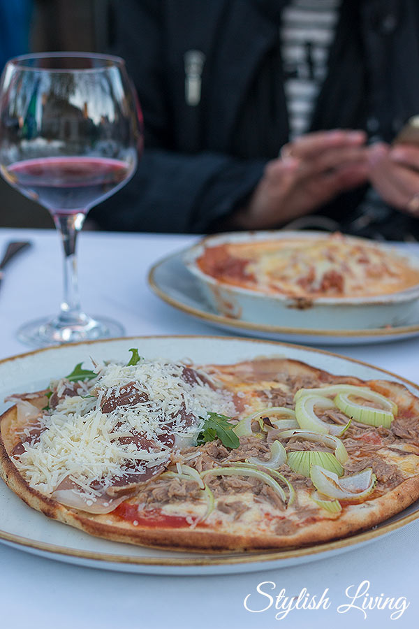 Pizza in der Osteria Vecchie Mura in Großenhain