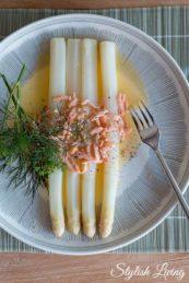 Rezepte für Spargelsaucen: Buttersauce mit Räucherlachs