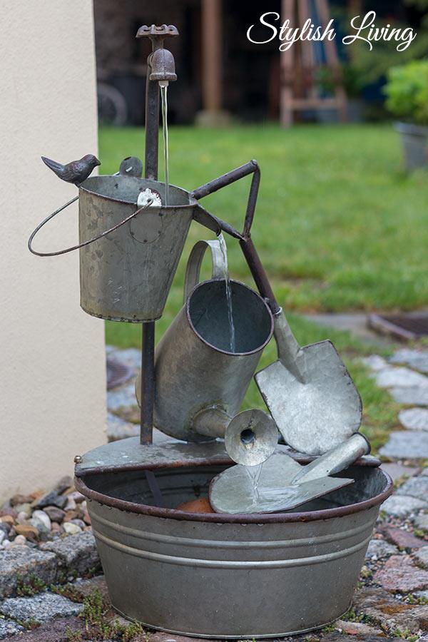 Wasserspiel Pension Alte Schmiede Zabeltitz
