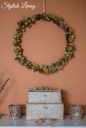 DIY Kranz aus Trockenblumen