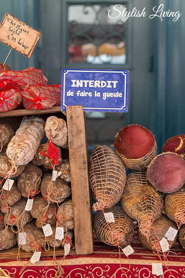 Auf dem Markt von Saint-Rémy-de-Provence - Vive le Frühling