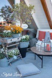Frühlingsupdate für den Balkon