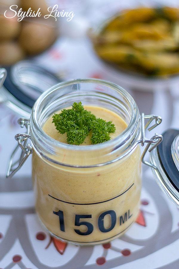 Mango-Curry-Dip zum Grillen