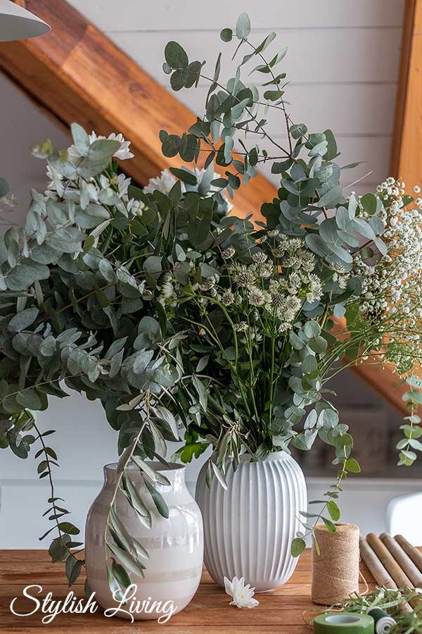 Blumen Zubehör für Haarkranz