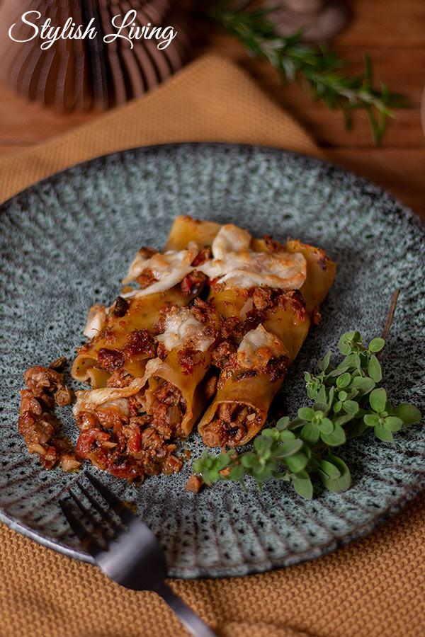 Kalbfleisch Rezepte für das Weihnachtsmenü: Kalbfleisch Cannelloni